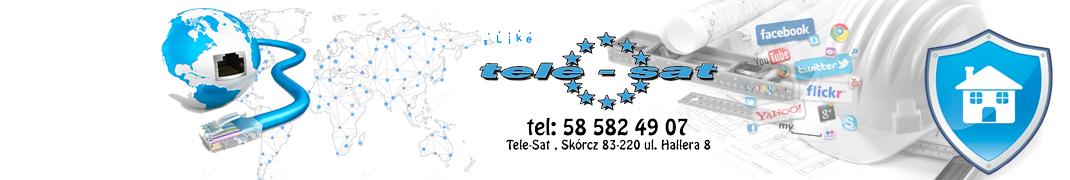 INTERNET - Najtańszy! Najszybszy! Dla Ciebie! | TELE-SAT Dostawca internetu oraz wielu usług IT/CCTV